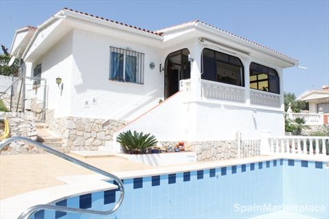 Peñiscola, detached house with swimingpool for sale